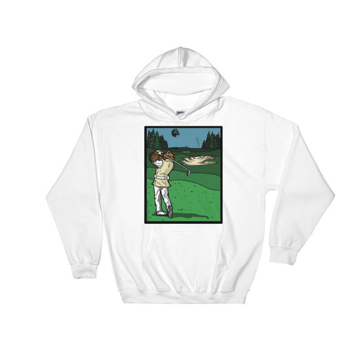 It's a Sand Trap! Admiral Ackbar Sand Hazard Golf Meme Hooded Sweatshirt + House Of HaHa