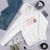 Cupcakes the Friends You Bake Yourself Unisex Hoodie + House Of HaHa Best Cool Funniest Funny Gifts