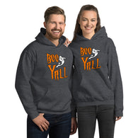 Boo Y'all Unisex Hoodie + House Of HaHa Best Cool Funniest Funny Gifts
