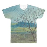 New Mexico Tree All-Over Printed T-Shirt by Melody Gardy + House Of HaHa Best Cool Funniest Funny Gifts