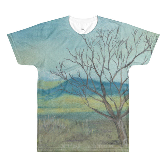New Mexico Tree All-Over Printed T-Shirt by Melody Gardy + House Of HaHa Best Cool Funniest Funny T-Shirts
