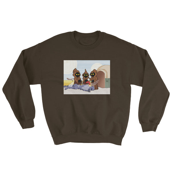 Weenie Roast Men's Sweatshirt + House Of HaHa