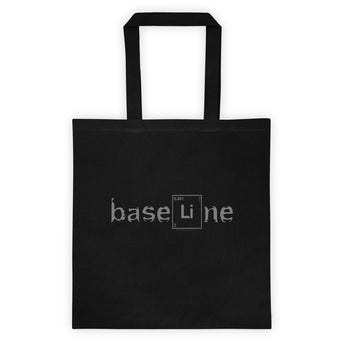 BaseLine Lithium Bipolar Awareness Tote bag + House Of HaHa Best Cool Funniest Funny Gifts