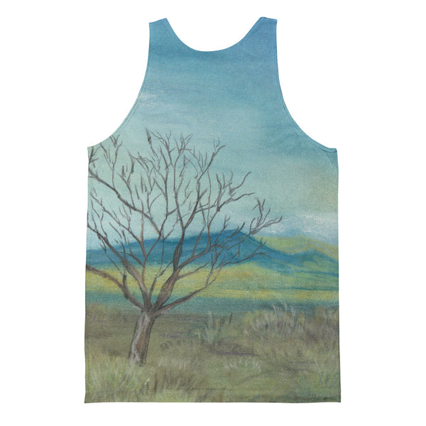 New Mexico Tree Unisex Classic Fit Tank Top by Melody Gardy + House Of HaHa Best Cool Funniest Funny Gifts