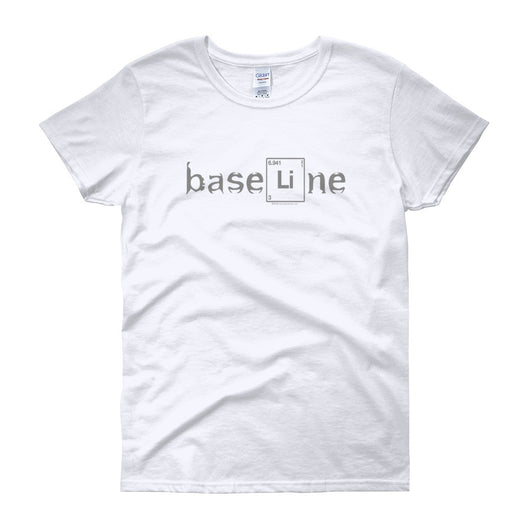 BaseLine Lithium Bipolar Awareness Women's Short Sleeve T-Shirt + House Of HaHa Best Cool Funniest Funny T-Shirts