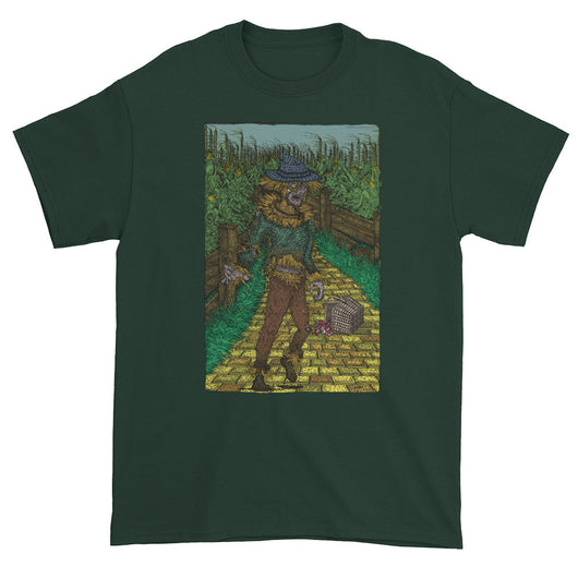 Walkers Of Oz: Zombie Wizard of Oz Cornfield Parody  Men's Short Sleeve T-Shirt + House Of HaHa Best Cool Funniest Funny T-Shirts