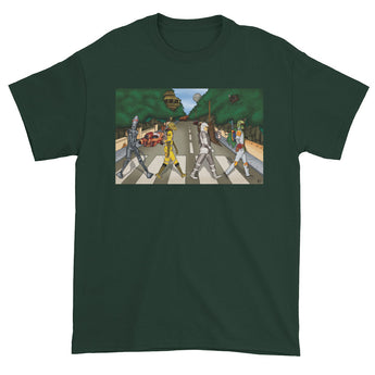 Bounty Road Street View Beatles Star Wars Mash Up Parody Men's Short Sleeve T-Shirt + House Of HaHa Best Cool Funniest Funny Gifts