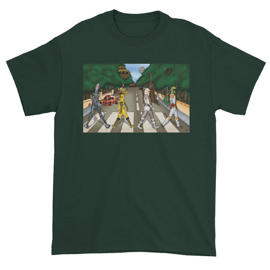 Bounty Road Street View Beatles Star Wars Mash Up Parody Men's Short Sleeve T-Shirt + House Of HaHa Best Cool Funniest Funny T-Shirts