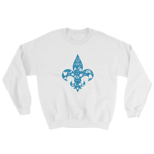 Awesome Geeks Geeky Passions Fleur de Lis Sweatshirt + House Of HaHa Best Cool Funniest Funny T-Shirts