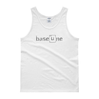 BaseLine Lithium Bipolar Awareness  Men's Tank Top + House Of HaHa Best Cool Funniest Funny Gifts