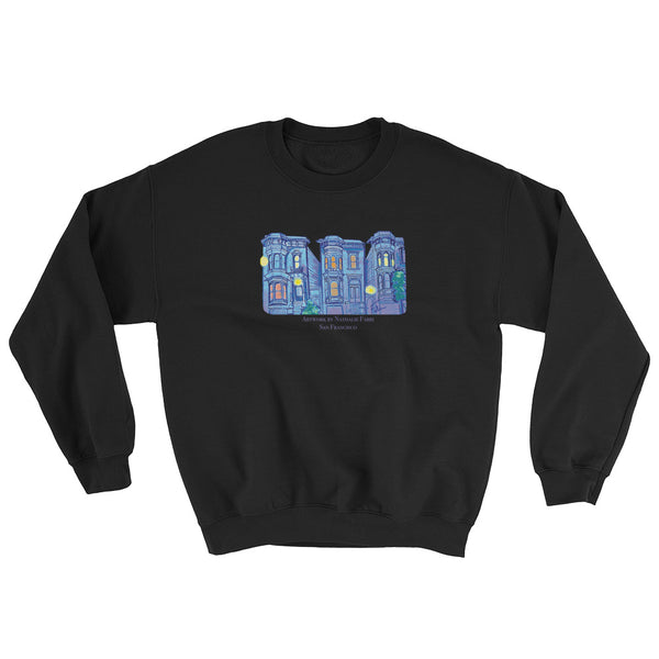 My Three Loves San Francisco Sweatshirt by Nathalie Fabri + House Of HaHa Best Cool Funniest Funny Gifts