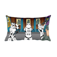 Troopers Shooting Gallery Parody Rectangular Pillow + House Of HaHa Best Cool Funniest Funny Gifts
