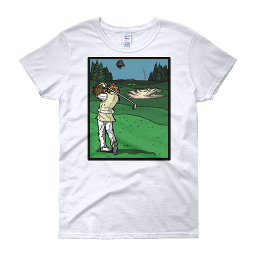 It's a Sand Trap! Admiral Ackbar Sand Hazard Golf Meme Women's short sleeve t-shirt + House Of HaHa