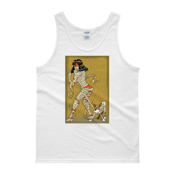Mummy Pin-Up Men's Tank Top + House Of HaHa Best Cool Funniest Funny Gifts