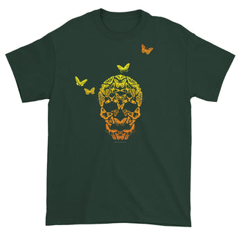 Butterfly Skull Men's Short Sleeve T-Shirt + House Of HaHa Best Cool Funniest Funny Gifts