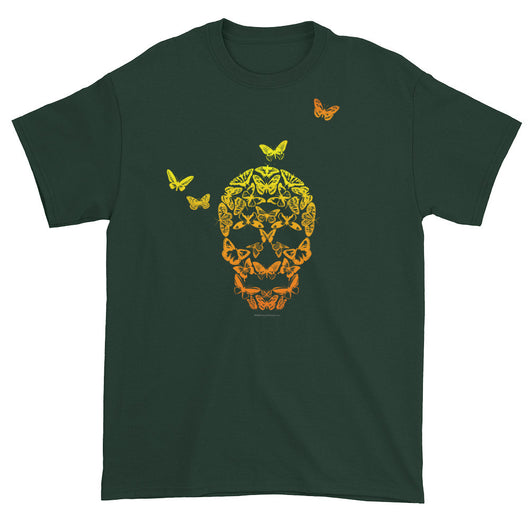 Butterfly Skull Men's Short Sleeve T-Shirt + House Of HaHa Best Cool Funniest Funny T-Shirts