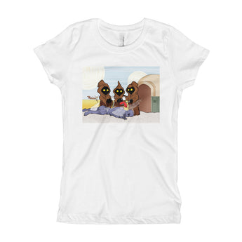 Weenie Roast Girl's Princess T-Shirt + House Of HaHa Best Cool Funniest Funny Gifts