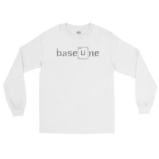BaseLine Lithium Bipolar Awareness Men's Long Sleeve T-Shirt + House Of HaHa Best Cool Funniest Funny T-Shirts