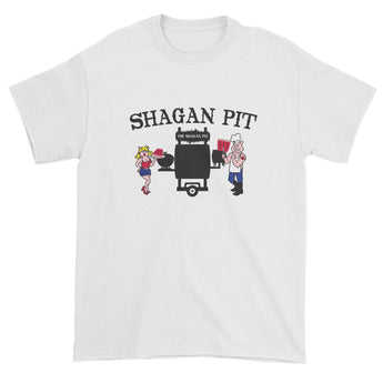 Shagan Pit Logo Short Sleeve T-Shirt + House Of HaHa Best Cool Funniest Funny Gifts