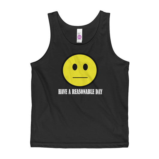 Have A Reasonable Day Kids' Tank Top - Made in USA + House Of HaHa