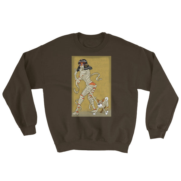Mummy Pin-Up Men's Sweatshirt + House Of HaHa Best Cool Funniest Funny Gifts