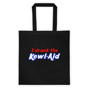 I Drank the Kewl Aid Psychedelic LSD Double Sided Print Tote Bag + House Of HaHa Best Cool Funniest Funny Gifts