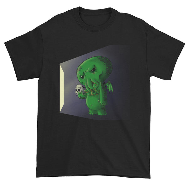 Midnight Snack Chibi Cthulhu Men's Short Sleeve T-shirt + House Of HaHa