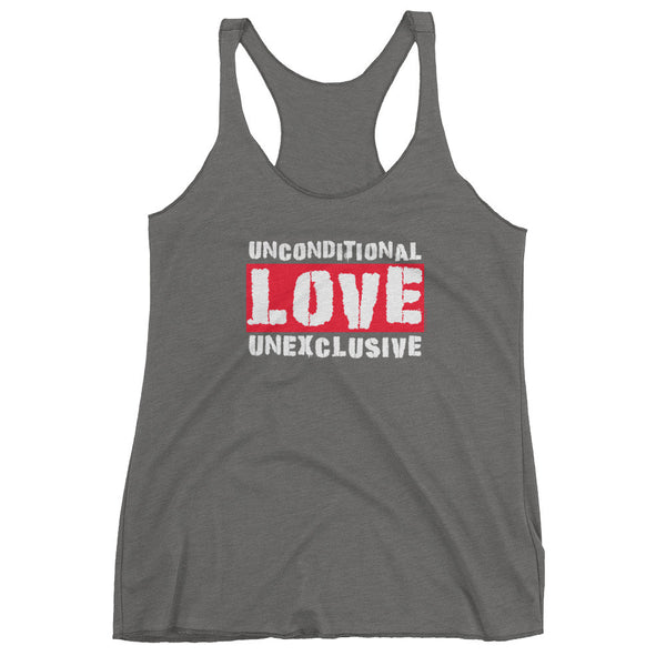 Unconditional Love Unexclusive Family Unity Peace Women's Tank Top + House Of HaHa
