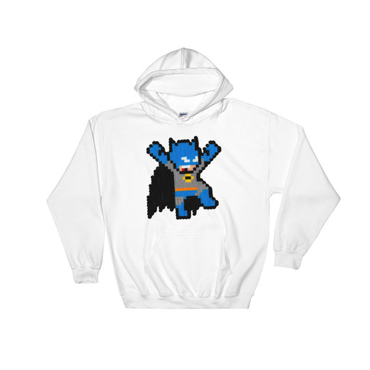 Batman Perler Art Hooded Sweatshirt by Silva Linings + House Of HaHa Best Cool Funniest Funny T-Shirts
