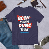 Been There Dune That Sand Lake Oregon ATV Flag Short-Sleeve Unisex T-Shirt + House Of HaHa Best Cool Funniest Funny T-Shirts