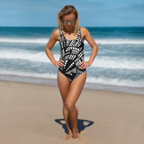 Love Struck One-Piece Swimsuit + House Of HaHa Best Cool Funniest Funny T-Shirts
