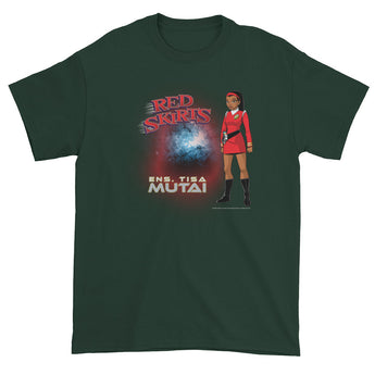Red Skirts: Ensign Mutai  Men's Short Sleeve T-Shirt + House Of HaHa Best Cool Funniest Funny Gifts