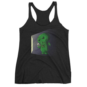 Midnight Snack Chibi Cthulhu Women's Tank Top + House Of HaHa Best Cool Funniest Funny Gifts