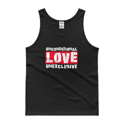 Unconditional Love Unexclusive Family Unity Peace Tank Top + House Of HaHa Best Cool Funniest Funny Gifts