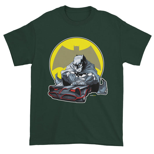 Lil Batmobile Men's Short Sleeve T-shirt + House Of HaHa