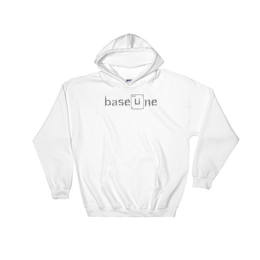 BaseLine Lithium Bipolar Awareness Hooded Hoodie Sweatshirt + House Of HaHa Best Cool Funniest Funny T-Shirts