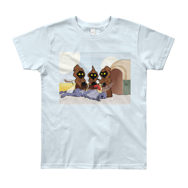 Weenie Roast Youth Short Sleeve T-Shirt - Made in USA + House Of HaHa