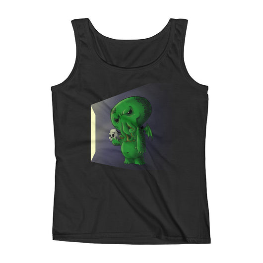 Midnight Snack Chibi Cthulhu Ladies' Tank Top + House Of HaHa