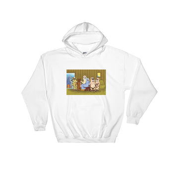 Shearing Day  Heavy Hooded Hoodie Sweatshirt + House Of HaHa Best Cool Funniest Funny Gifts