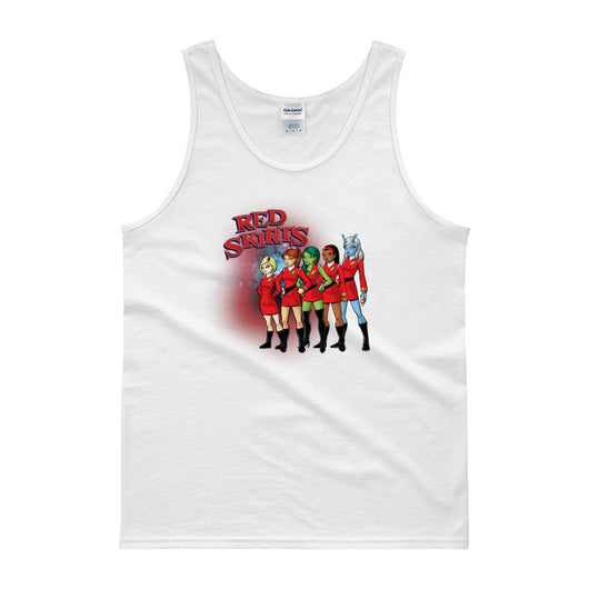 Red Skirts Security Team Men's Tank Top + House Of HaHa