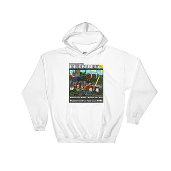 Have A Reasonable Day Camping Across America Hooded Sweatshirt by Aaron Gardy + House Of HaHa Best Cool Funniest Funny Gifts