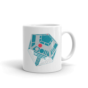 R2-D20 Star Wars Twenty Sided Gaming Die Mug + House Of HaHa Best Cool Funniest Funny Gifts