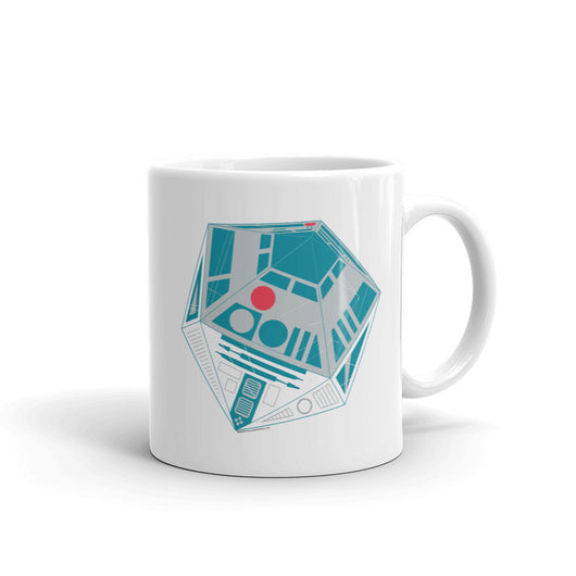 R2-D20 Star Wars Twenty Sided Gaming Die Mug + House Of HaHa