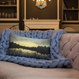 Assateague Island Premium Decorative Throw Pillow + House Of HaHa Best Cool Funniest Funny Gifts