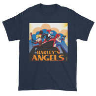 Harley's Angels Men's Short Sleeve T-Shirt + House Of HaHa Best Cool Funniest Funny T-Shirts