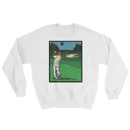 It's a Sand Trap! Admiral Ackbar Sand Hazard Golf Meme Sweatshirt + House Of HaHa