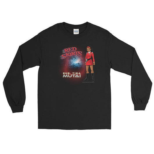 Red Skirts: Ensign Mutai Men's Long Sleeve T-Shirt + House Of HaHa