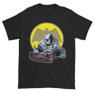 Lil Batmobile Men's Short Sleeve T-shirt + House Of HaHa Best Cool Funniest Funny Gifts
