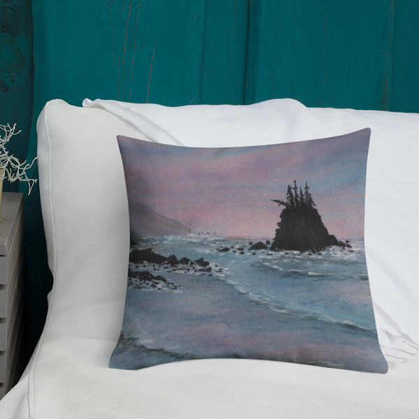 Sunrise Shores Premium Pillow