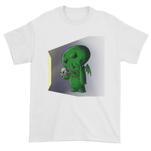 Midnight Snack Chibi Cthulhu Men's Short Sleeve T-shirt + House Of HaHa Best Cool Funniest Funny T-Shirts